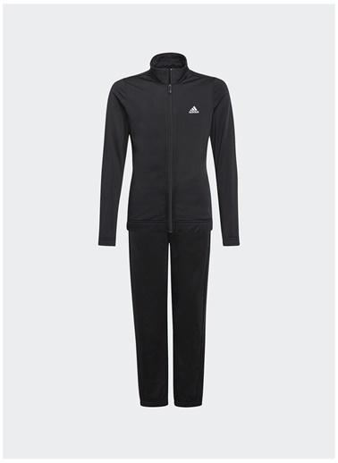 adidas Adidas Kız Çocuk Siyah-Beyaz Eşofman Takımı Siyah